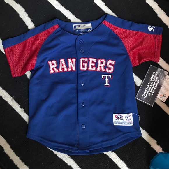quality design 20488 6f8d1 Toddler Texas Rangers Jersey